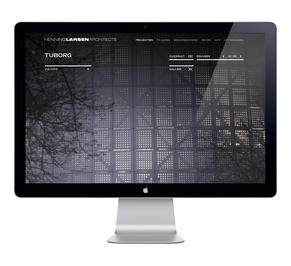 Henning Larsen on Web Design Served