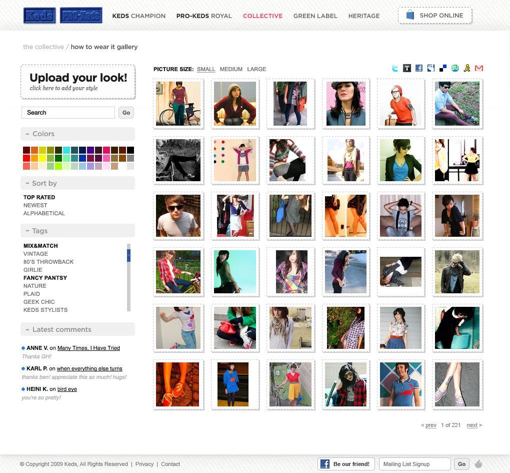Keds on Web Design Served