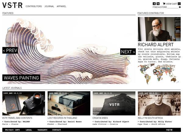 VSTR on Web Design Served