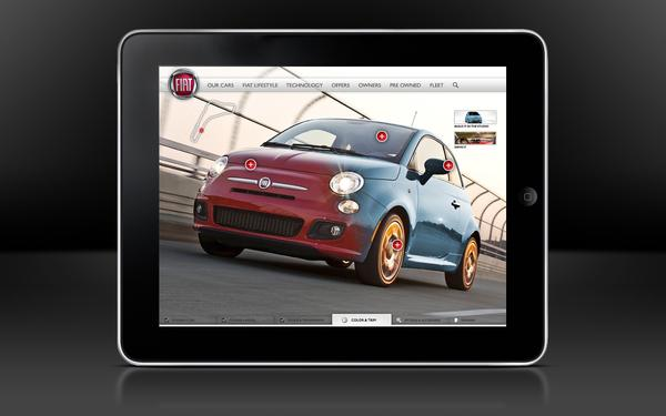 Fiat Car Configurator on Web Design Served