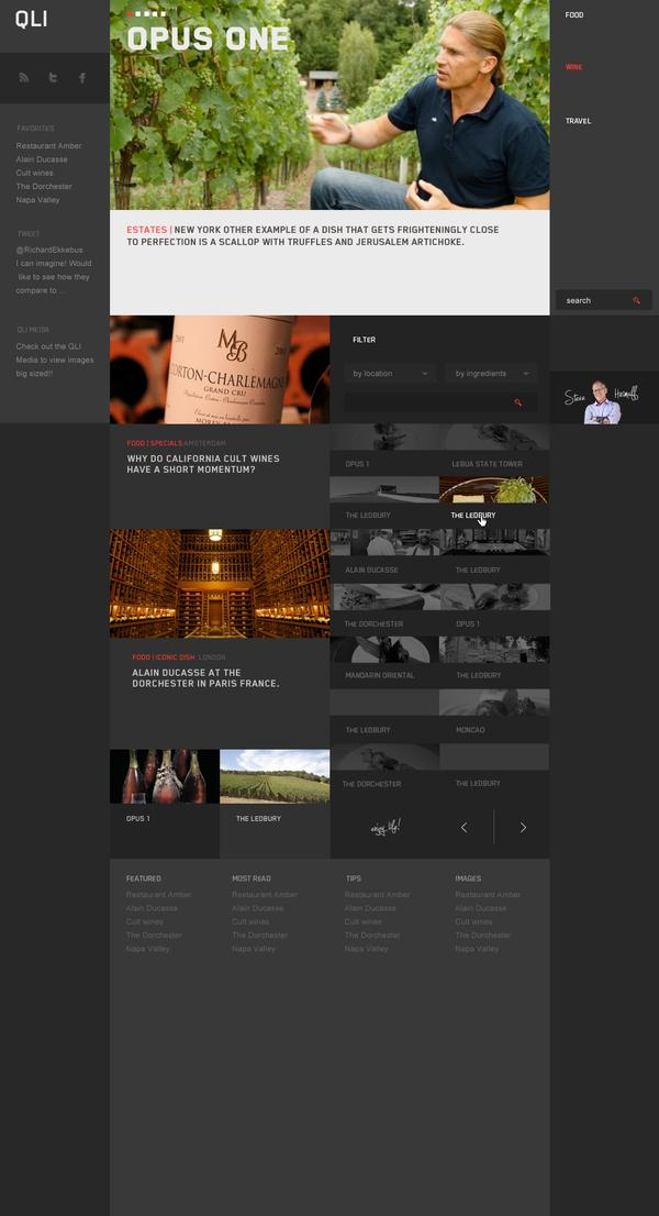 Qulinairs on Web Design Served