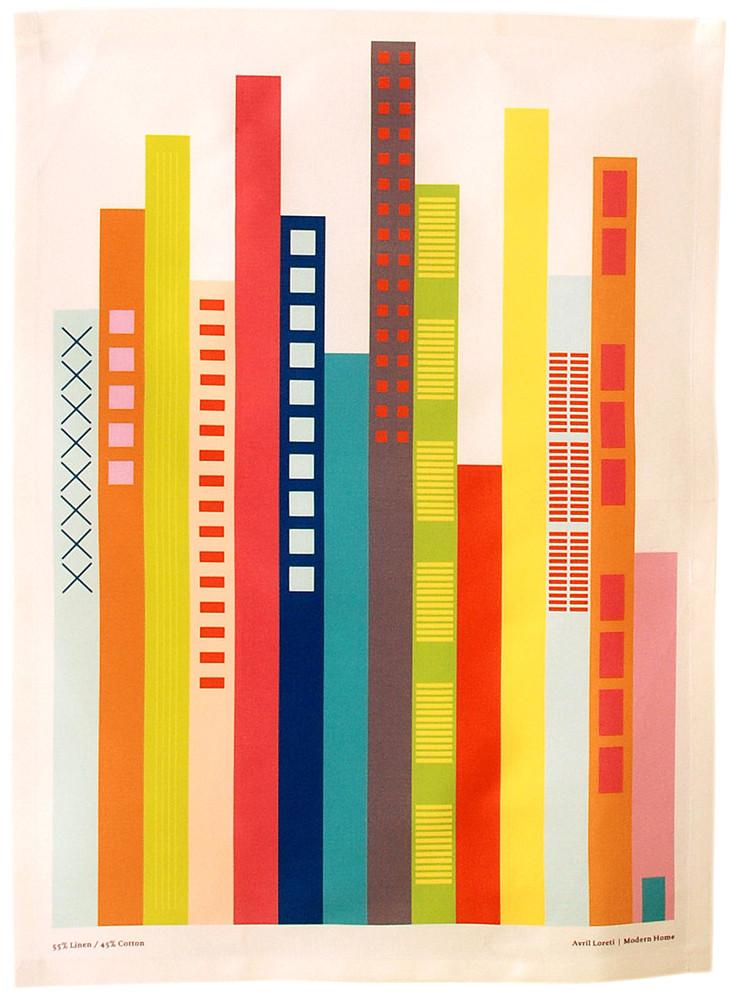 Cityscape Tea Towel | LEIF