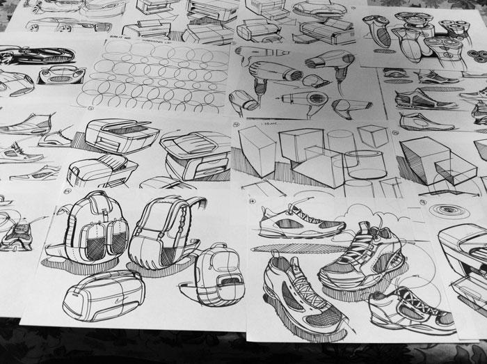 Sketch-A-Day: Daily Sketches from Industrial Designer, Spencer Nugent