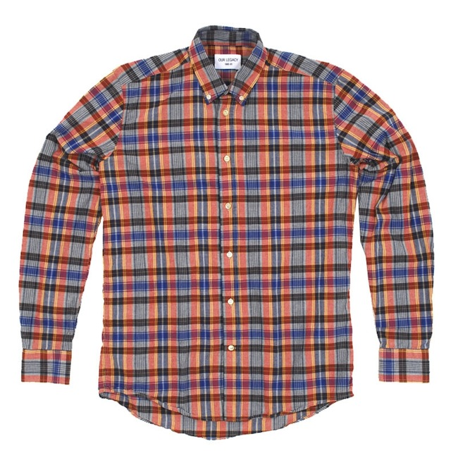 Our Legacy Placket Checked Shirt discount sale voucher promotion code | fashionstealer