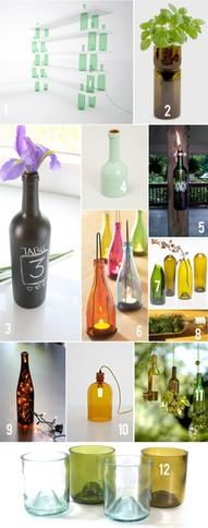 DIY 101 ways to upcycle glass JARS and BOTTLES