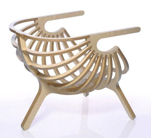 Modern Unique Plywood Chair by Branca Acirc raquo Home Desig 1