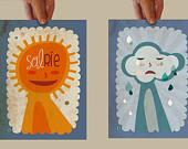 illustration & tiny things by vireta on Etsy