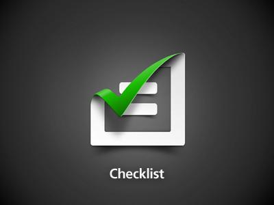 Checklist300x400 by Jimmy Goedhart