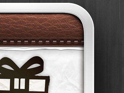 Gift App Icon by Tim Quirino