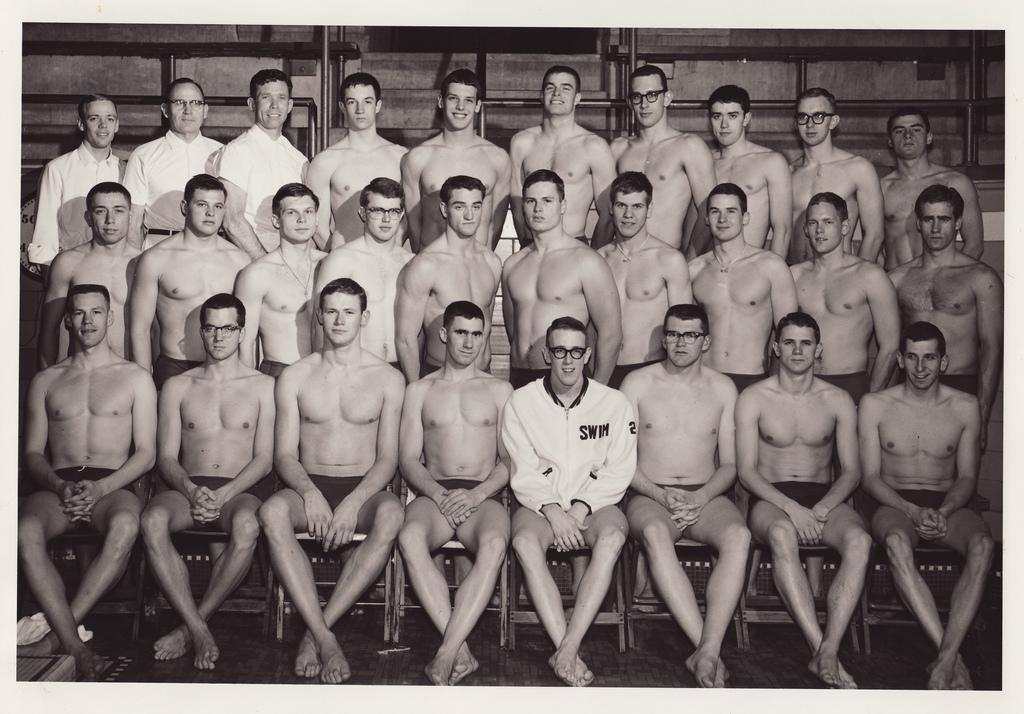 1963-1964 U of M Varsity Swimming Team | Flickr - Photo Sharing!