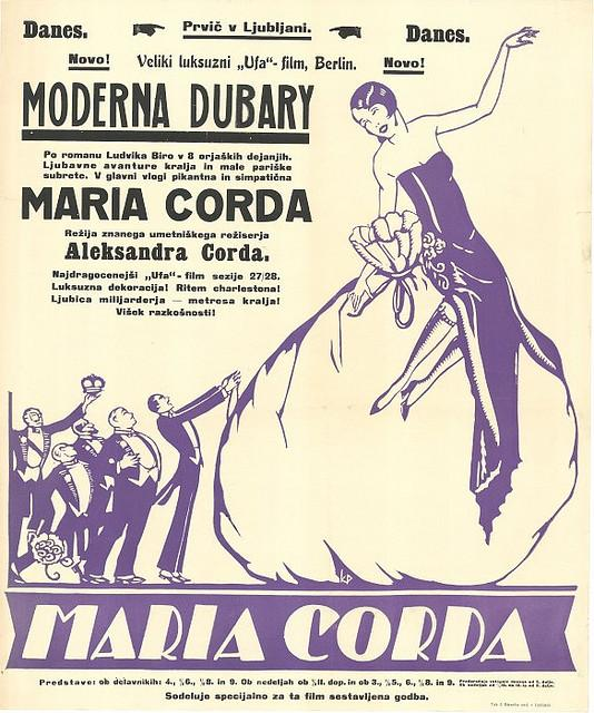 film or - Maria Corda (Moderna Dubary) Kocjan?i?, Peter (avtor), 1925 | Flickr - Photo Sharing!