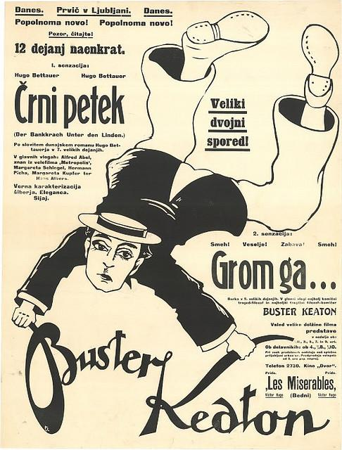 film - Buster Keaton (?rni petek - Grom ga ---) - Kocjan?i?, Peter (avtor), 1925   Flickr - Photo Sharing!
