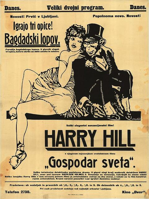 film or - Harry Hill (Gospodar sveta - Bagdadski lopov) - Kocjan?i?, Peter (avtor), 1925 | Flickr - Photo Sharing!