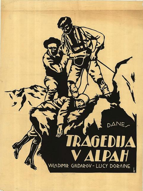 film or - Tragedija v Alpah - Kocjan?i?, Peter (avtor), 1925 | Flickr - Photo Sharing!