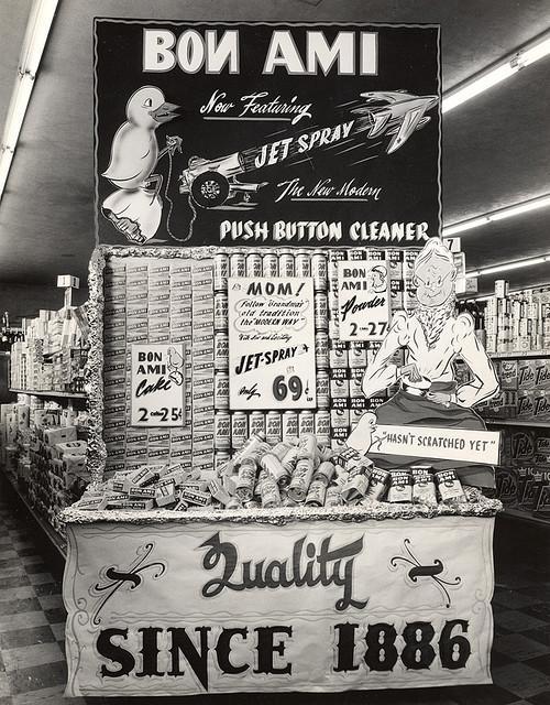 Bon Ami Jet Spray Display, 1950's | Flickr - Photo Sharing!