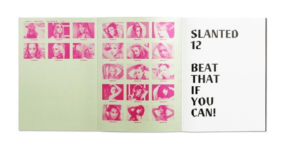 Slanted #12 – Women, Typography, Graphic design / Bench.li
