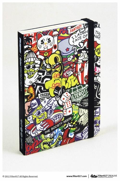 Filter017 X Jiukoushan R.D. Series Notebook