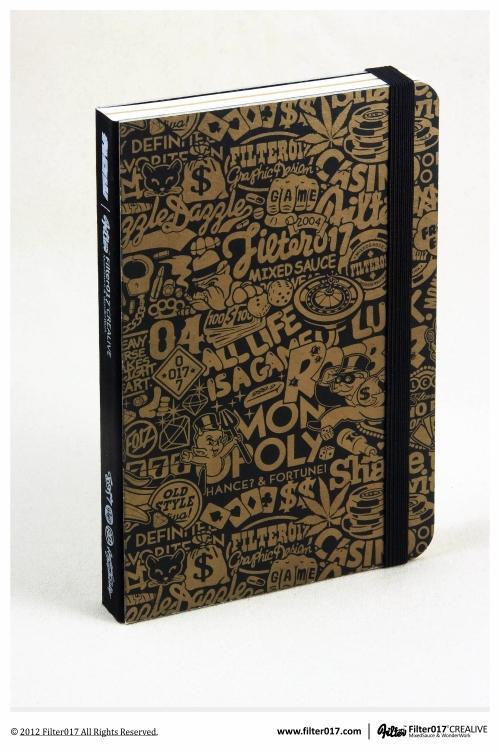Filter017 X Jiukoushan R.D. Series Notebook