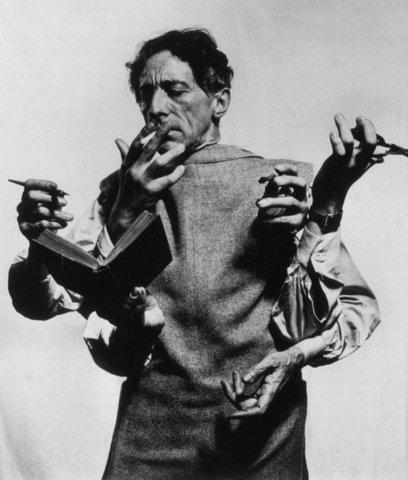 jean-cocteauby-Philippe-Halsman-1948.jpg (718×845)