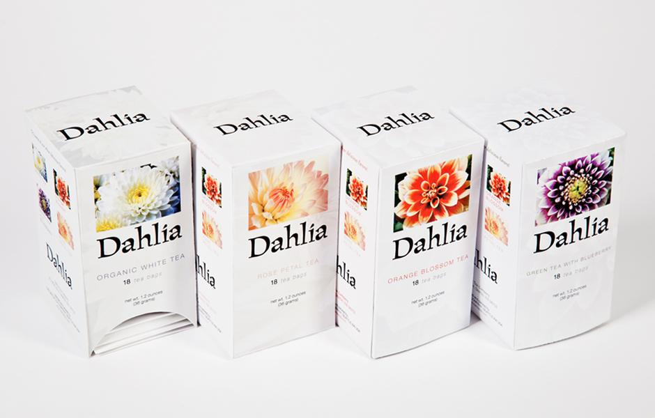 Dahlia Tea | Packaging Design « Agatha Peake | Graphic Design