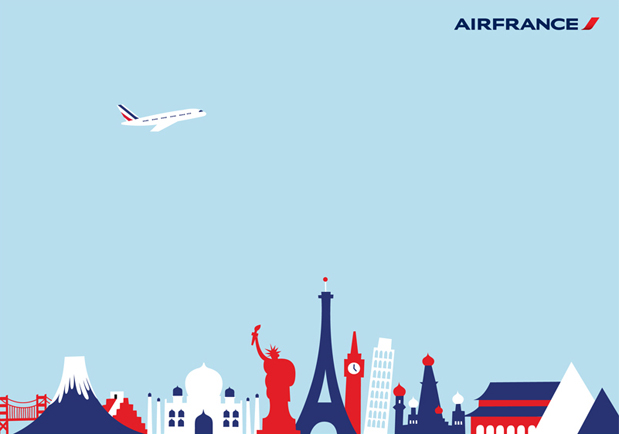 Air France - OZ - Portfolio - Illustrissimo, Agence d'illustrateurs et de graphistes internationaux à Paris - Michel Lagarde, Nicolas Pitzalis