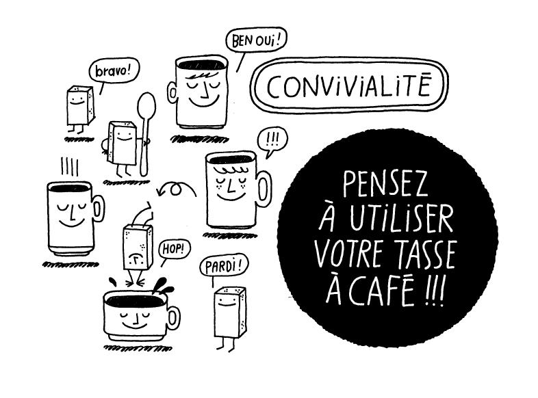 Dessin - Soup - Portfolio - Lezilus, Agence d'illustrateurs et de graphistes internationaux à Paris - Michel Lagarde, Nicolas Pitzalis