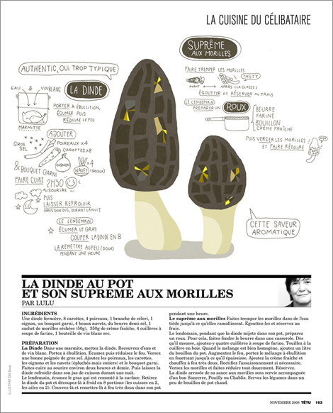 Recettes / Nourriture - Soup - Portfolio - Lezilus, Agence d'illustrateurs et de graphistes internationaux à Paris - Michel Lagarde, Nicolas Pitzalis