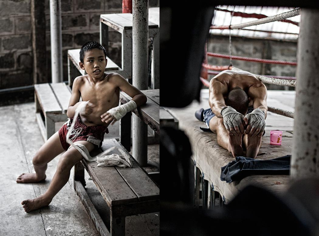 Muay Thai - Dean Bradshaw Photography
