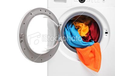 Close up of a washing machine | Stock Photo | iStock