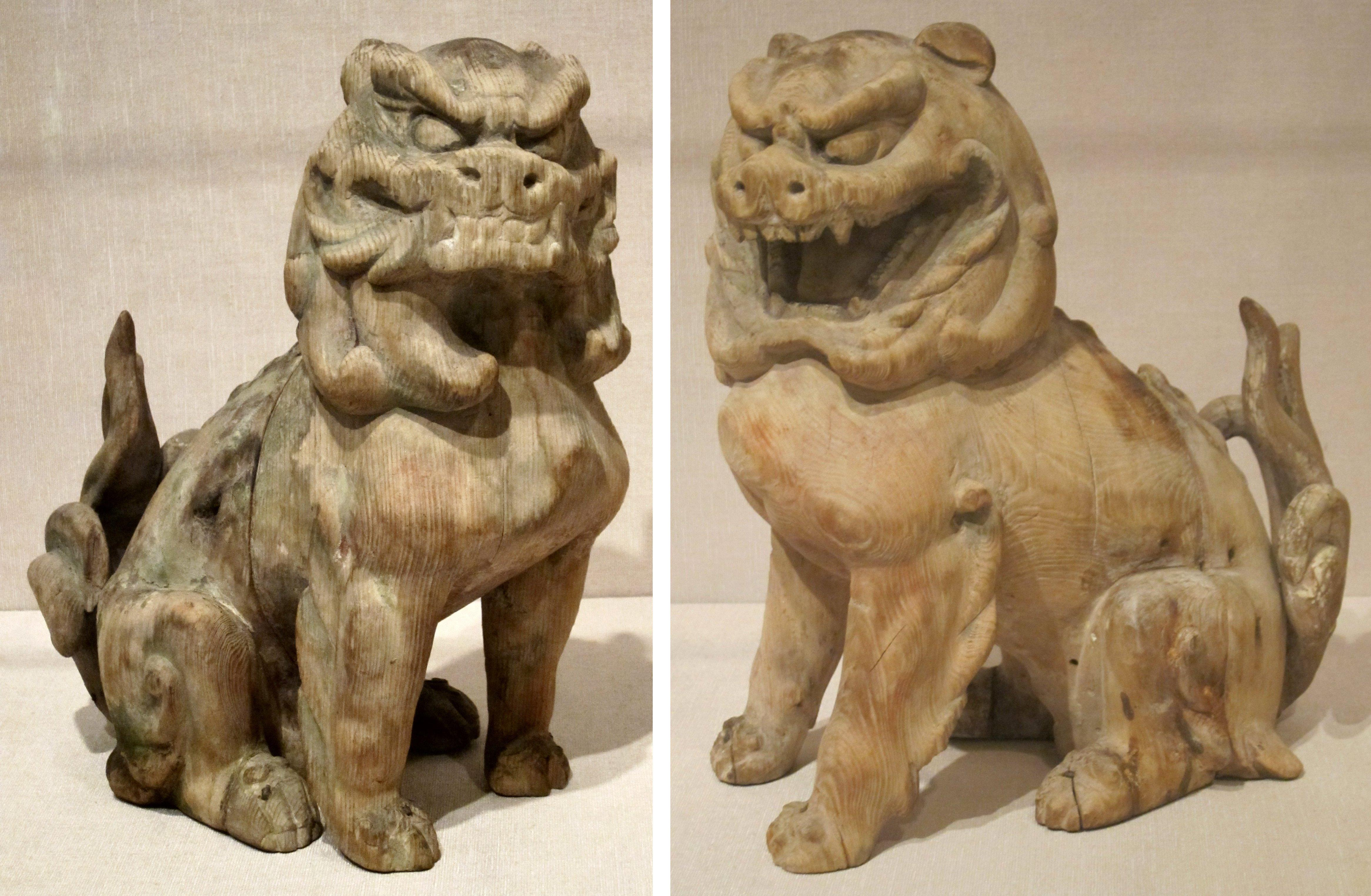 Pair_of_guardian_lions,_Japan,_Kamakura_period,_wood_with_traces_of_pigment,_HAA.JPG (4663×3048)