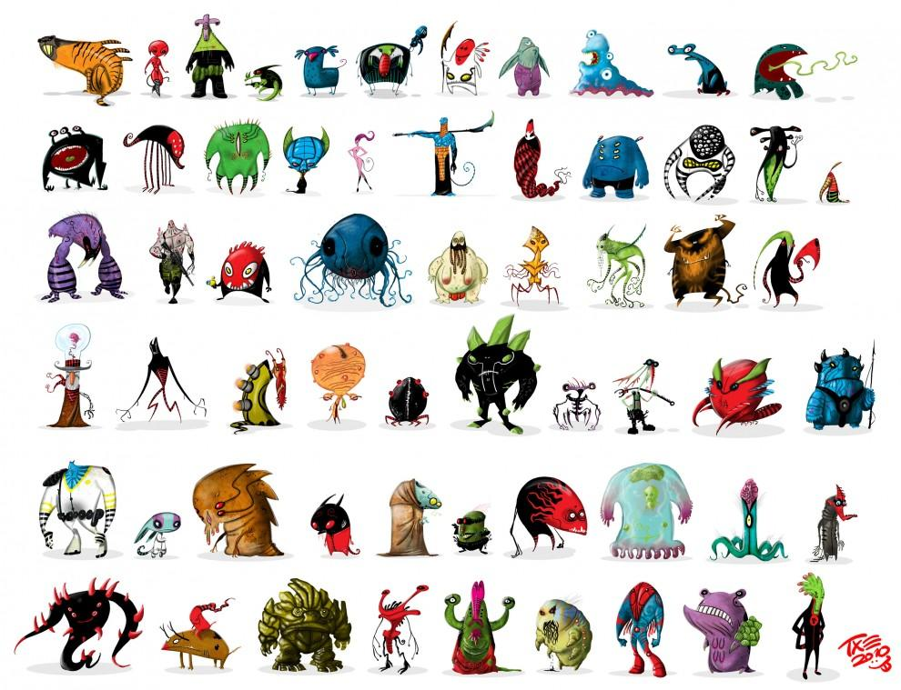 Aliens and Monsters - What an ART