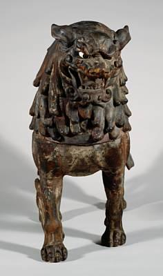 The Nelson-Atkins Museum of Art | Collection Database, Striding Lion: Mount for the Buddhist Deity Monju