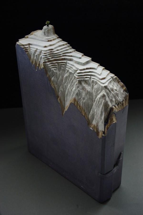 Sculpté Paysages livre de Guy Laramée | Colossal