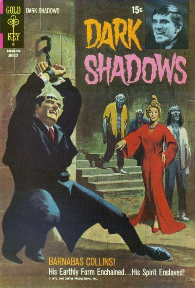 DARK SHADOWS #10 Fine, Vampires, Partial Photo Cover Horror Gold Key Comics 1971 | eBay