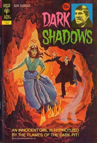 DARK SHADOWS #13 Very Good, Vampires, Partial Photo Cover, Gold Key Comics 1972 | eBay
