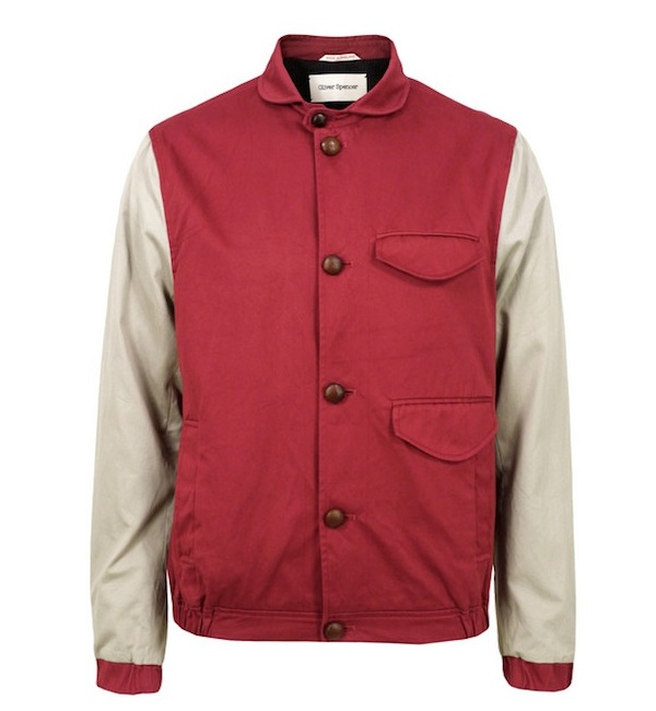 Oliver Spencer Shakespeare Baseball Jacket discount sale voucher promotion code | fashionstealer