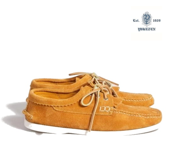 Yuketen Boat Shoe Orange sale voucher promotion code | fashionstealer