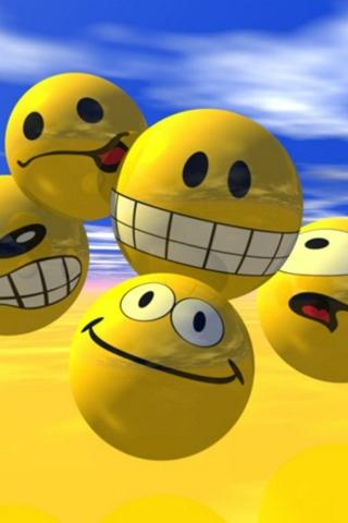 Smiley Faces iPhone Hd Wallpaper » Download Free iPhone Wallpapers For Your iPhone|WallpaperLa