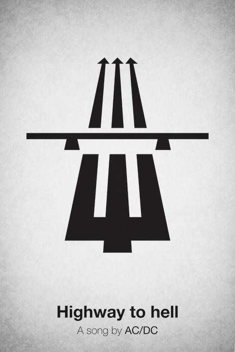 Pictogram Music Posters by Viktor Hertz | inspirationfeed.com