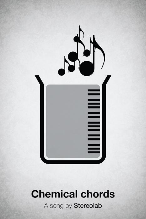 Pictogram Music Posters by Viktor Hertz   inspirationfeed.com