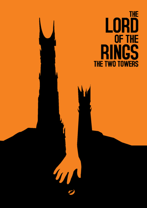 The lord of the rings: the two towers | Awesome Design Inspiration