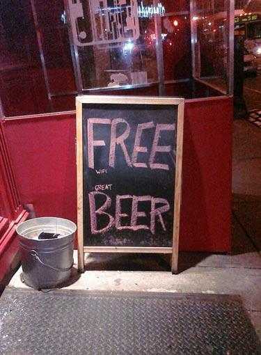 Great Beer Sign » Funny, Bizarre, Amazing Pictures & Videos