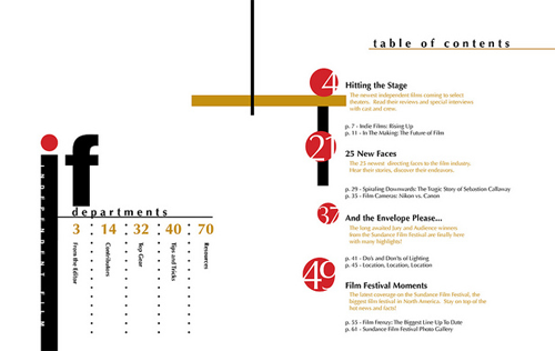 30 sample table of contents design for inspiration best for Table design sample