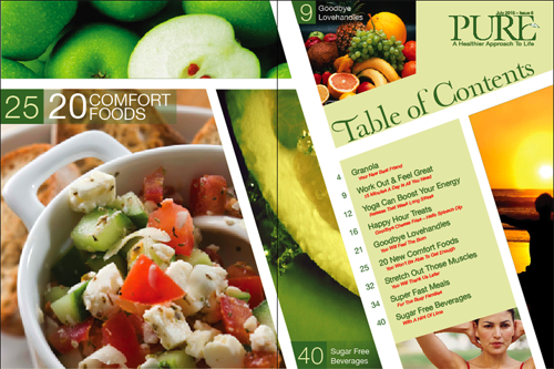 30 Sample Table of Contents Design for Inspiration | Best Design Options