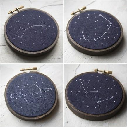 Popular / Love constellation embroidery