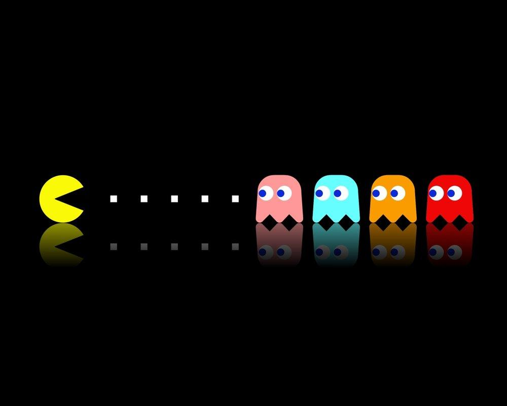 Pac-Man by ~molotov-arts