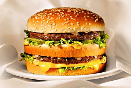 Hamburgers, Fast Food et publicité mensongère Le Big Mac de Mcdonald – SocialCooking