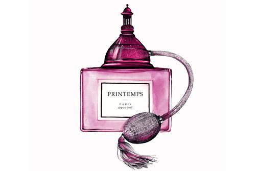 La Belle Parfumerie - Magasin PRINTEMPS HAUSSMANN