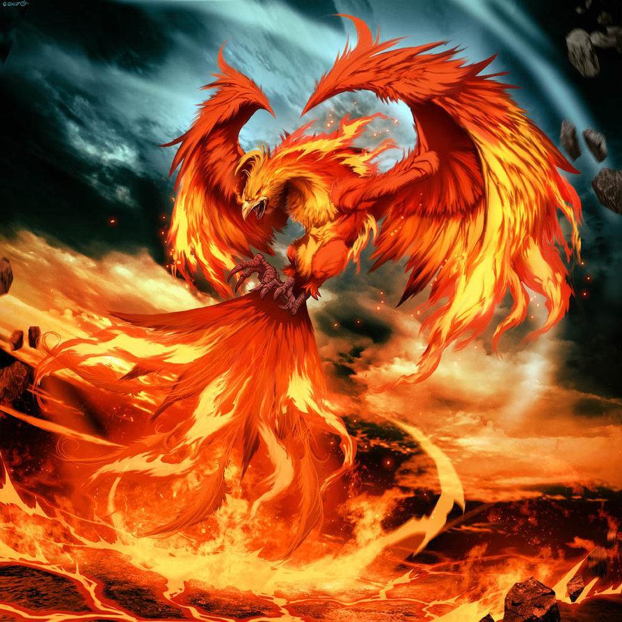 Phoenix par * GENZOMAN sur deviantART