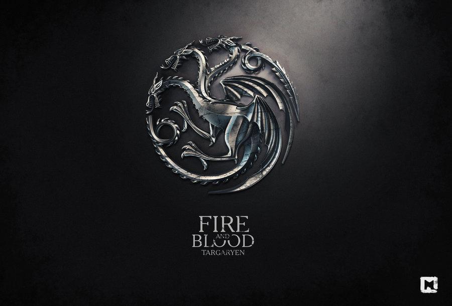 Sang et Targaryen feu par ~ Melaamory
